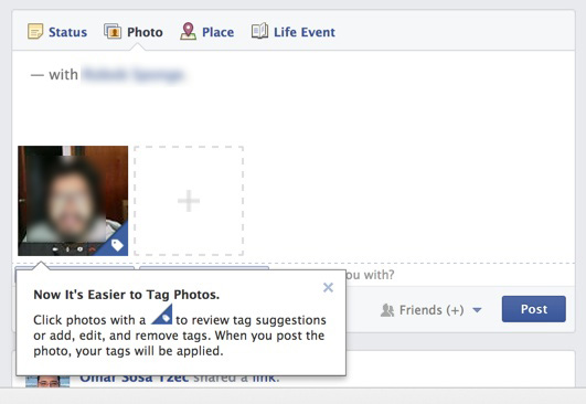 Facebook auto-tag feature. Do we have any control on how our image is used?