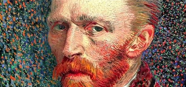 Self-portrait (Van Gogh, 1887). The Art Institute of Chicago. Instagram: @omitzek