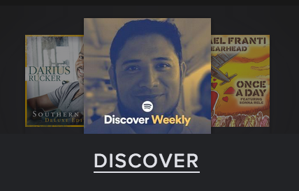 Spotify Discover Weekly album cover